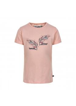 T-shirt Fjäder Peachskin