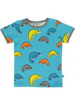 Tshirt Med Kameleont