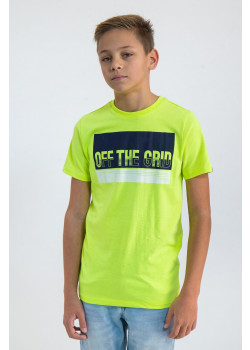 T-shirt Off The Grid Neon