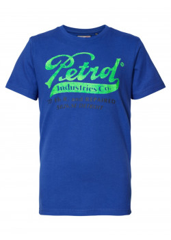 T-shirt Seascape Petrol