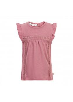 T-shirt Lace Mesa Rose